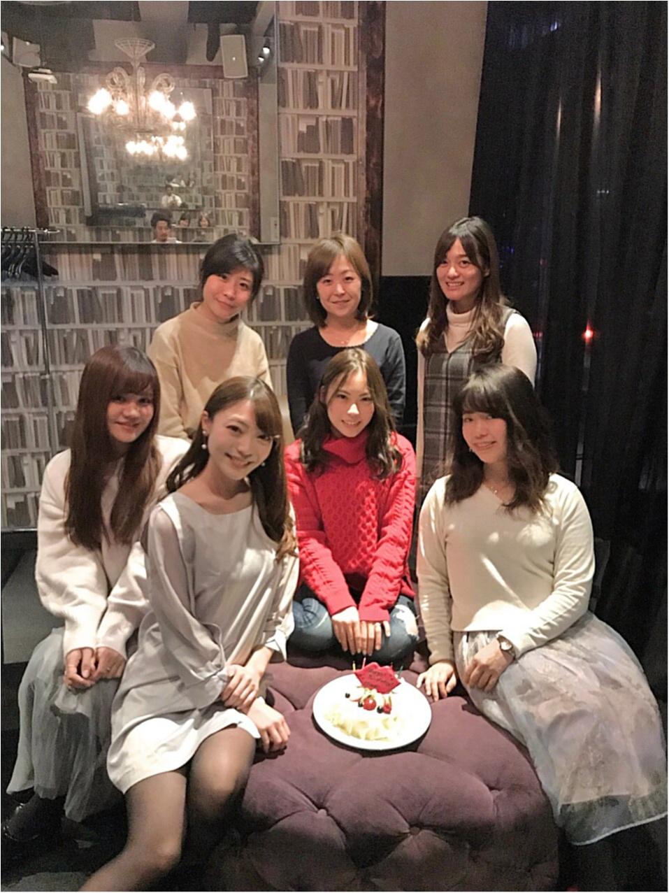 【大好きなモアハピ10期にお祝いしてもらいました】大人数女子会はオシャレな個室がおすすめ♡_11