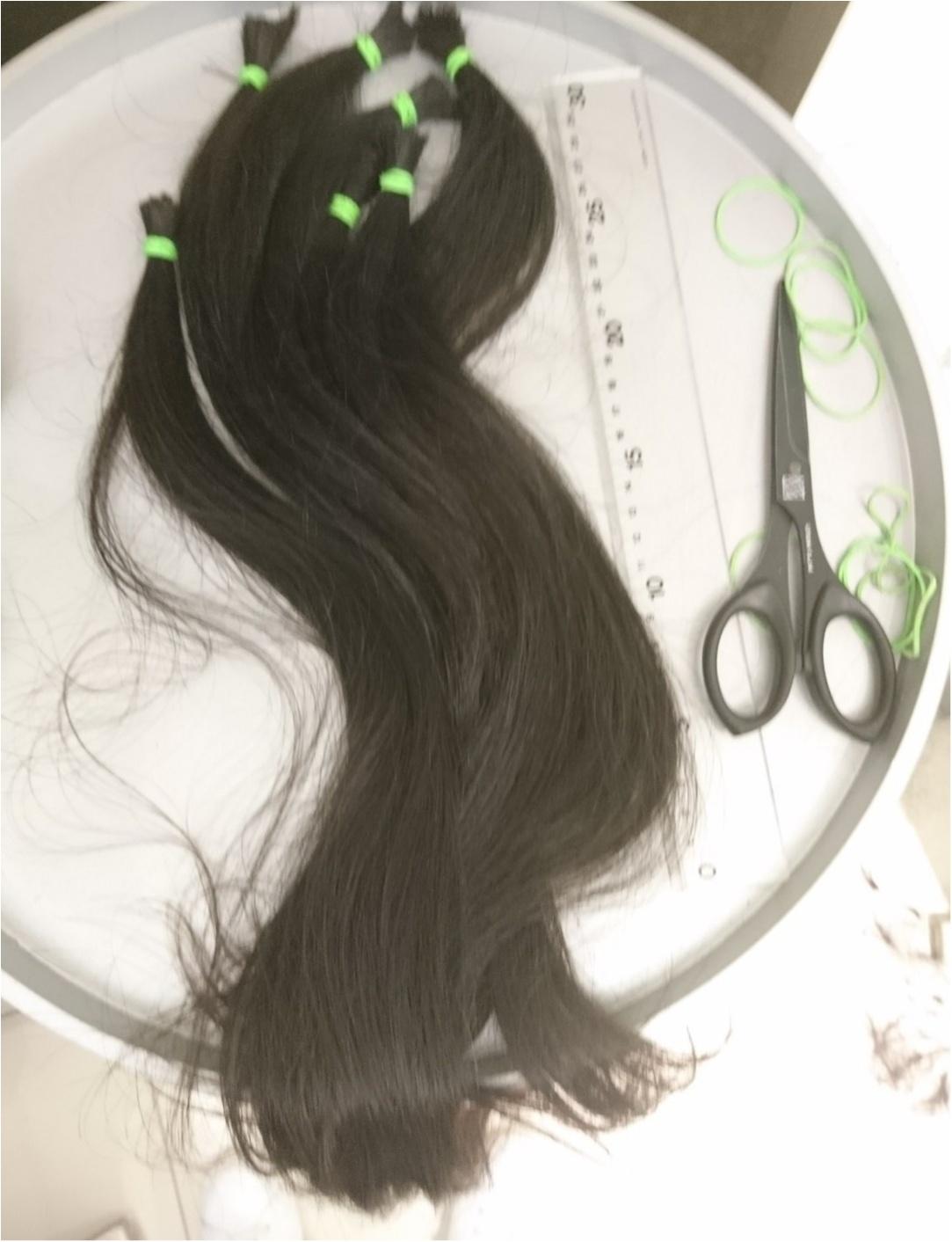 誰かのために役立つ&自分のイメチェンも叶う☆ 超ロングヘアをばっさり40cmヘアドネーションカット!_3