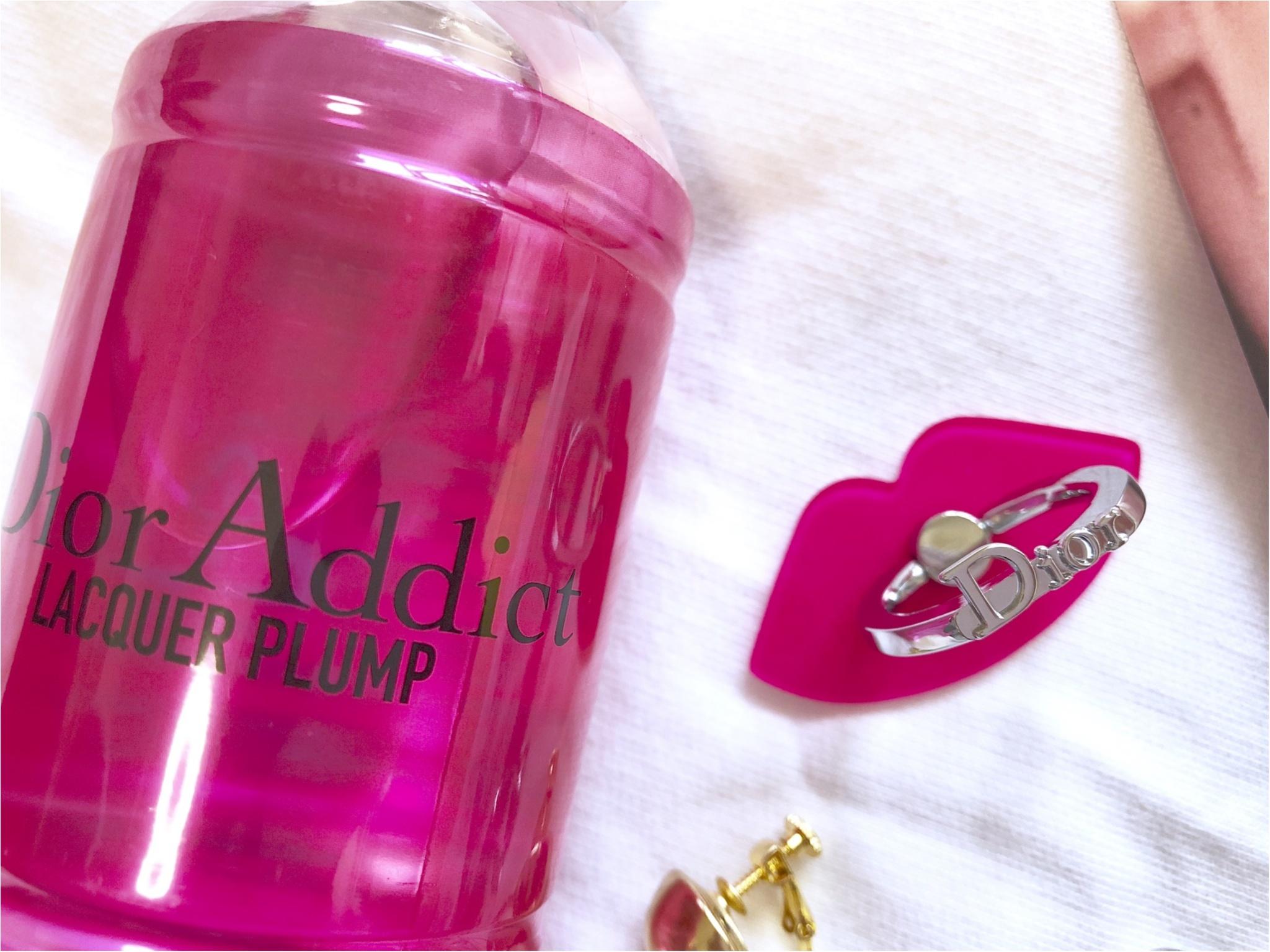 限定ノベルティや刻印も❤️【Dior addictラッカープランプ】発売記念イベントに行ってきました!_5