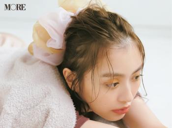 休日ヘアにおすすめ♪ 内田理央のボリュームシュシュでゆる可愛く【髪アクセでヘアアレンジ4】