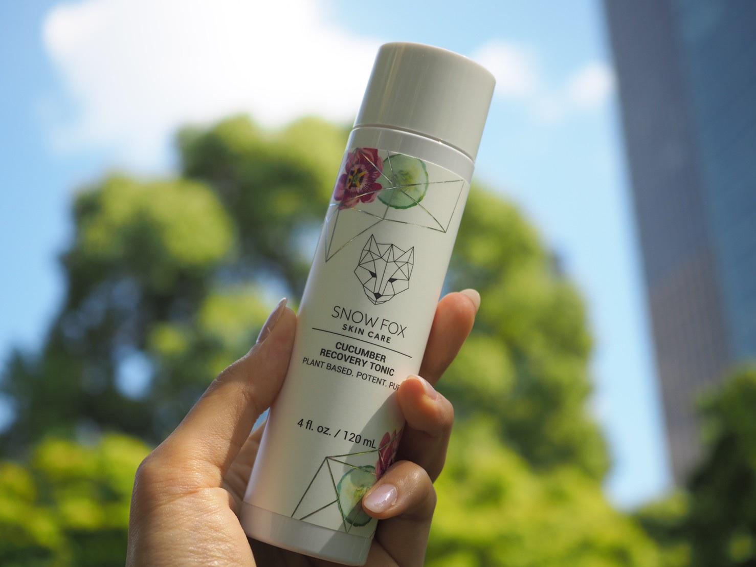 Snowfox skincare 化粧水 スキンケア ヴィーガン 植物由来 スノーフォックススキンケア