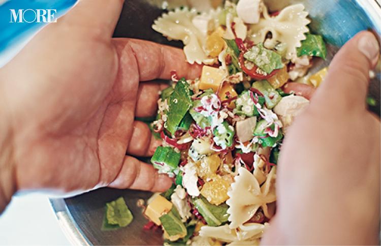 冷蔵庫にある野菜でOK! ヘルシーでおいしいチョップドサラダパスタの作り方【『sio』の鳥羽シェフレシピ】PhotoGallery_1_3