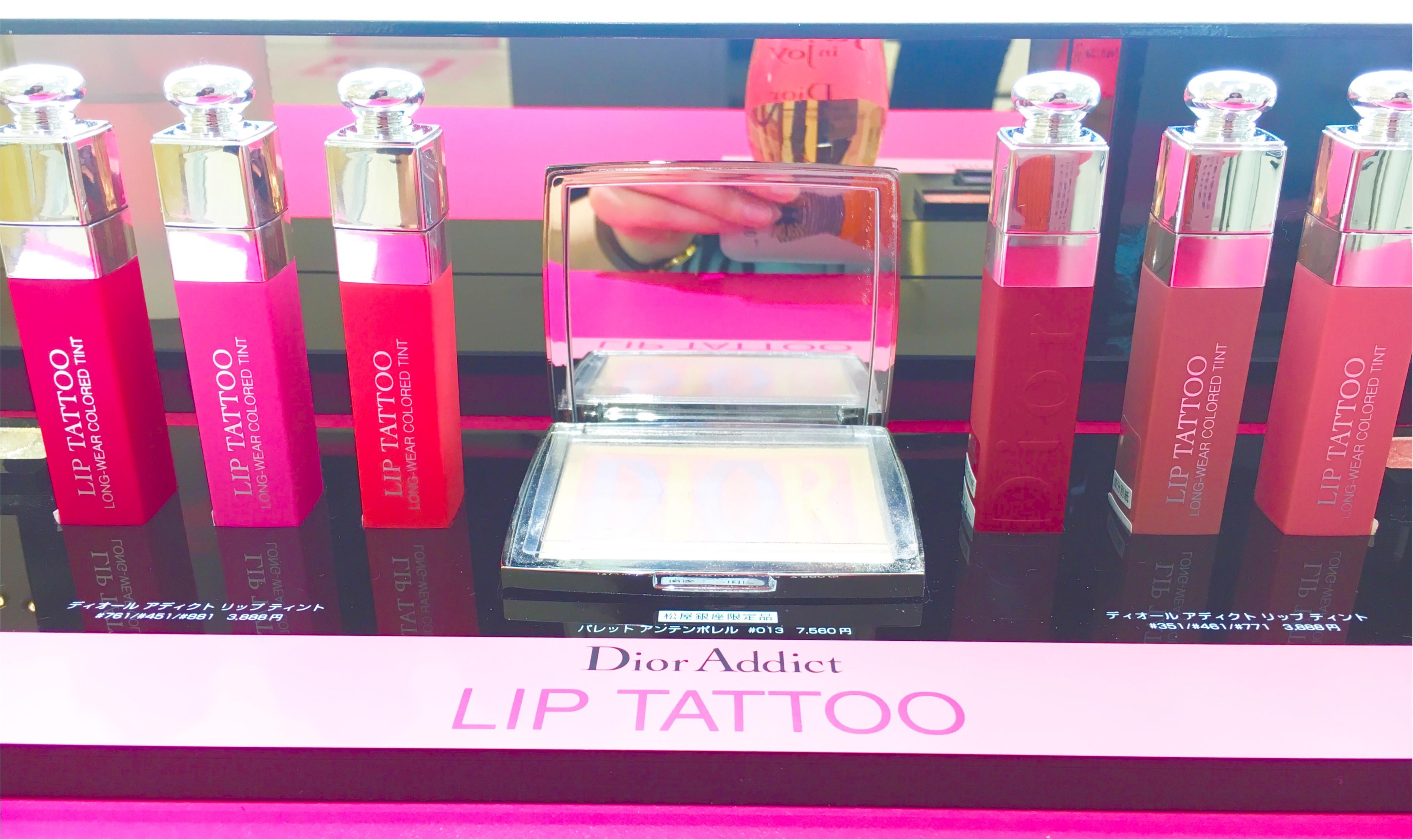 話題のリップが先行発売中❤️10時間耐久⁈【Dior ADDICT】リップタトゥーが超優秀!!_3