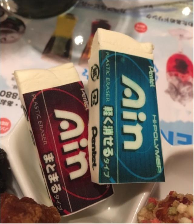 消しゴムも食べられる!?期間限定★ぺんてるのRAKUGAKI CAFE & BAR★_13