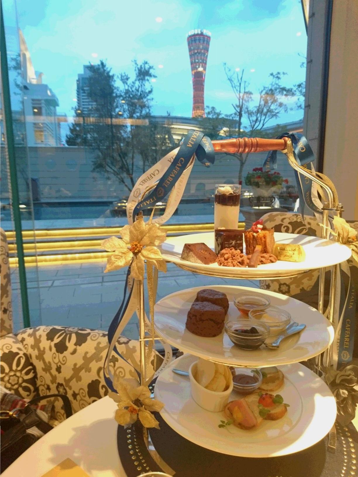 12月末まで開催 チョコレート店カファレルとコラボ  ♡贅沢アフタヌーンティー♡_2