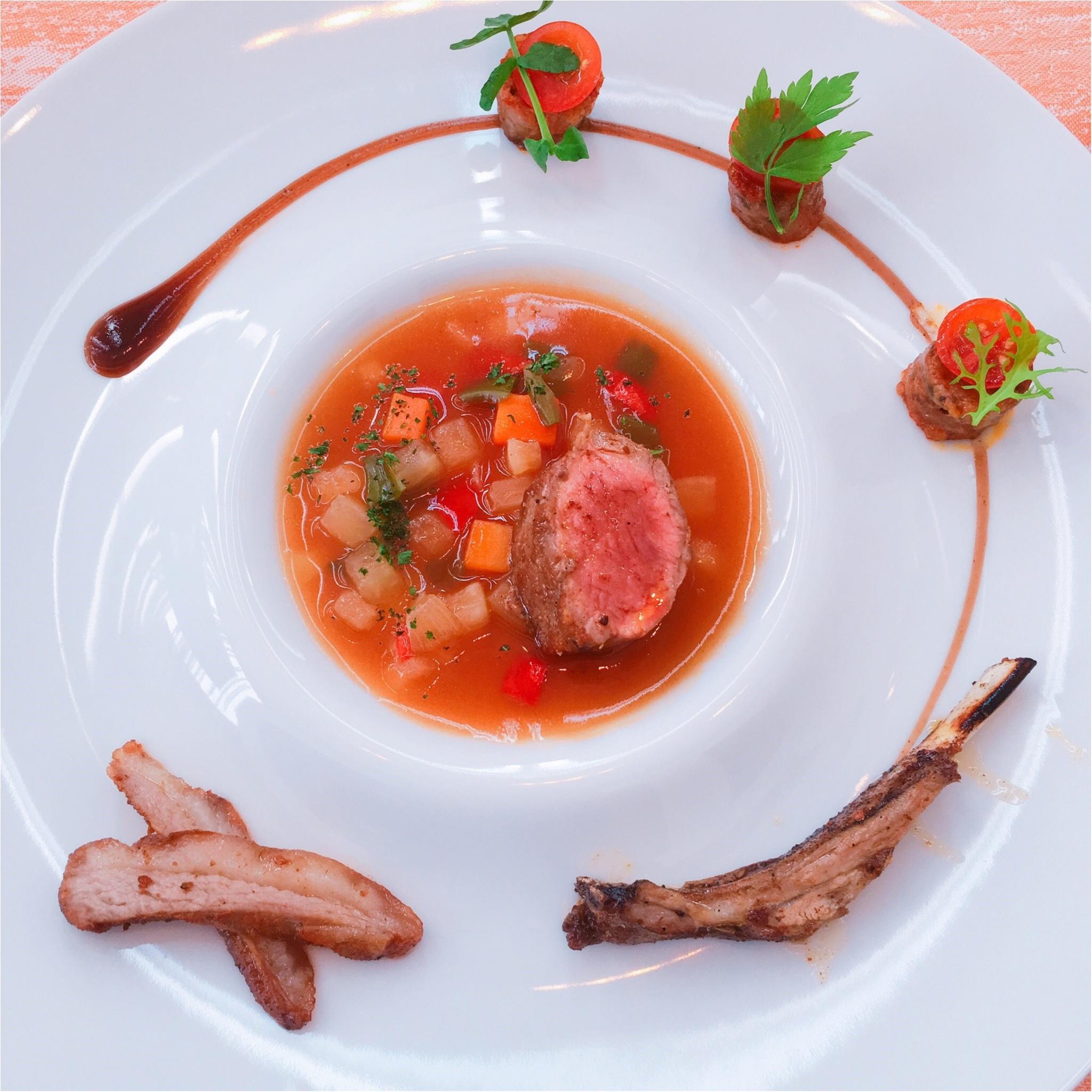 予約は2週間前がオススメ‼︎宝石のようなお野菜前菜ランチ_8