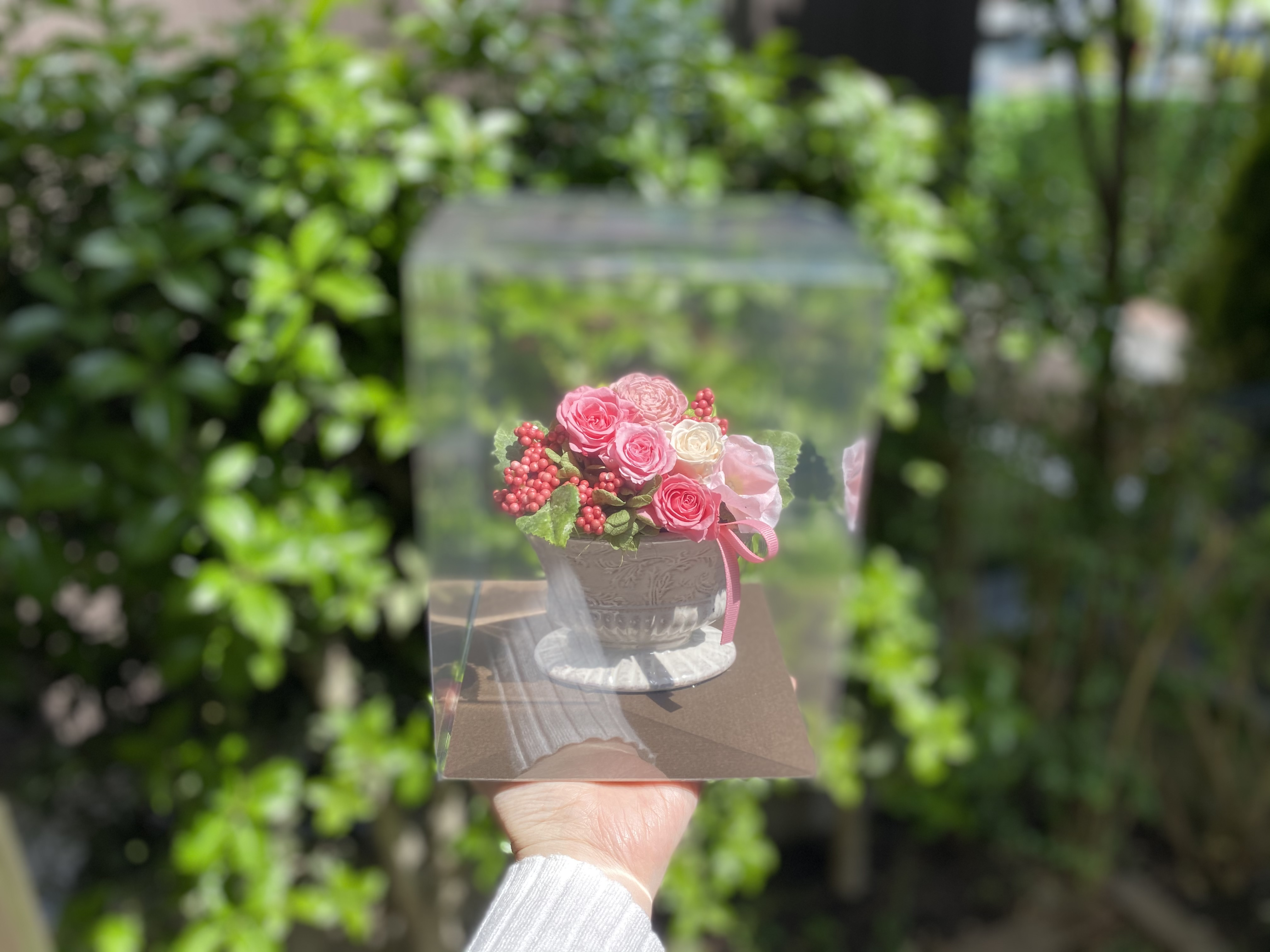 母の日に贈りたい!かわいい華やかなプリザーブドフラワー_2
