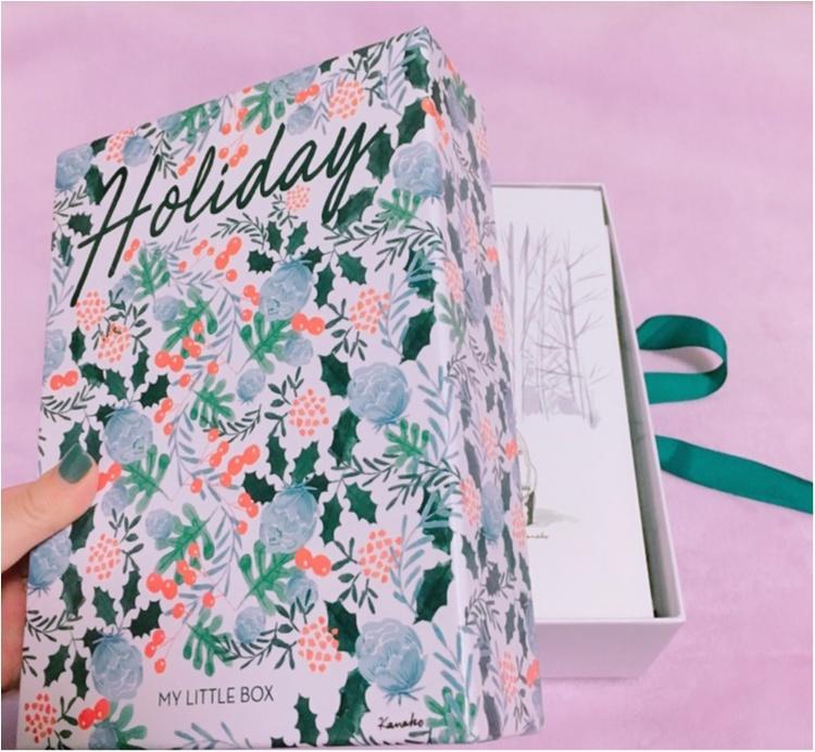 """《パリからの贈り物♡》今月はクリスマス仕様でいつもより豪華に♡思いも寄らず""""あの名品""""をゲットだぜっ!!!_2"""