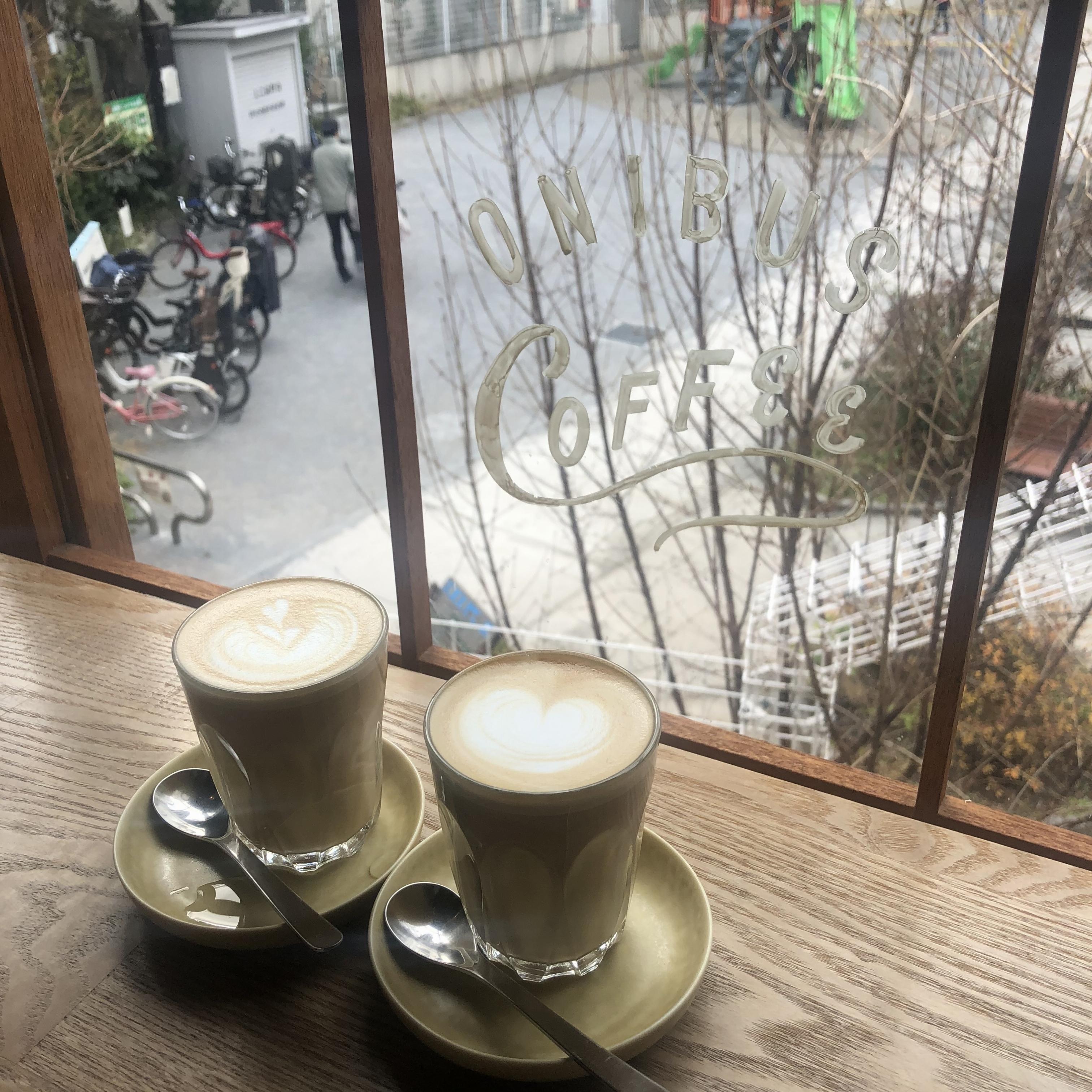 【中目黒カフェ】公園で遊ぶ子供たちをみながら、ゆったり時間。@『オニバスコーヒー中目黒店』_2