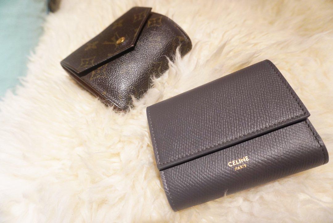 【20代女子の愛用財布】CELINEの三つ折り財布_4