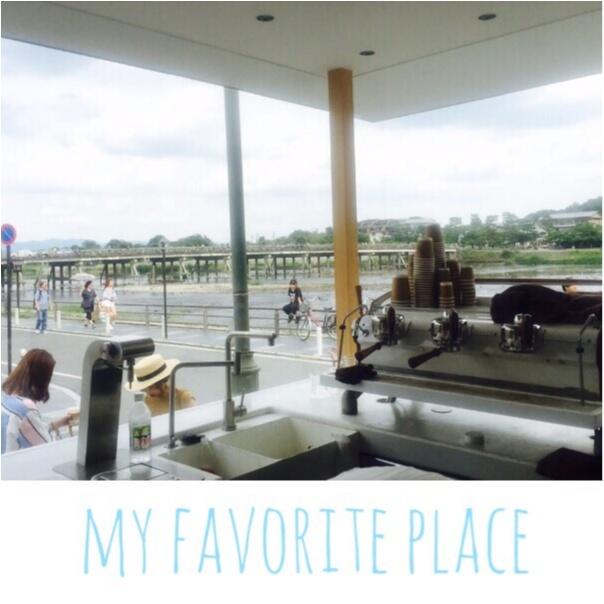 【京都・嵐山】今!話題沸騰のアラビカコーヒー♡渡月橋を眺めながら美味しいコーヒーを味わえます!_3