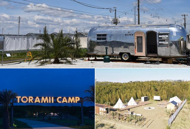 Ocean's Camp TORAMII受付やエントランスの様子