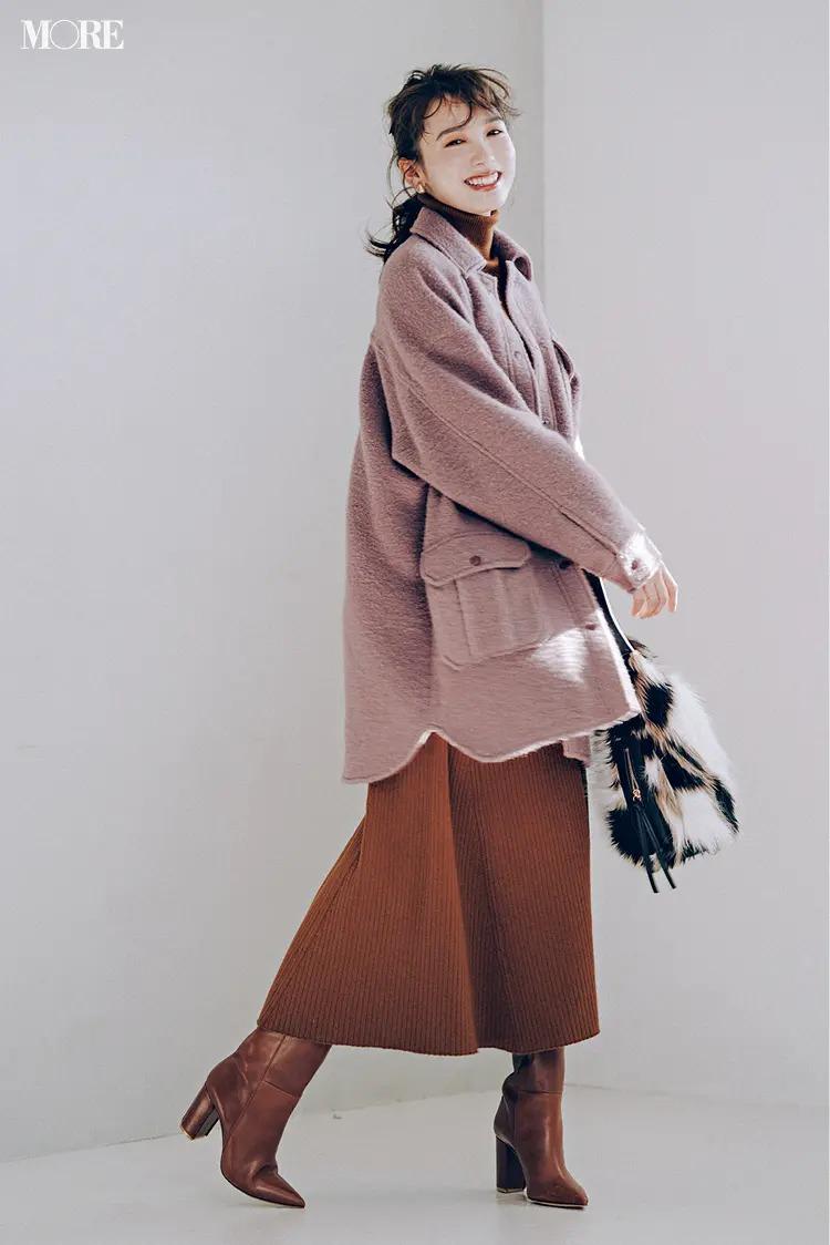 2021最新おすすめアウターの『リトラル』のCPOジャケットを着た全身コーデ