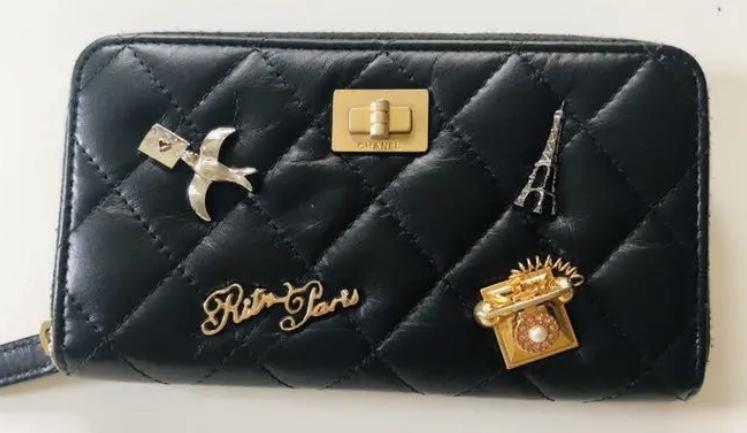 【20代女子の愛用財布】シャネルのRitzモチーフ財布_1
