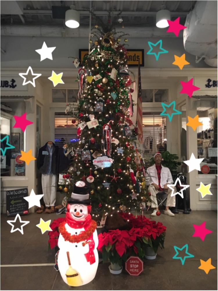【クリスマスまであと5日!】クリスマスツリーでカウントダウン☆ アメリカンアンティークがかっこいい!キャプテンサンタツリー@アクアシティお台場_1