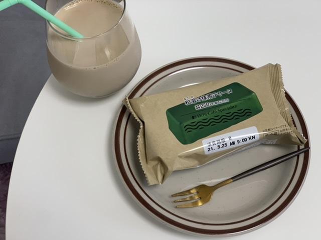 【ローソン】和溶け抹茶テリーヌが濃厚美味♡本格カフェ気分が味わる!_6