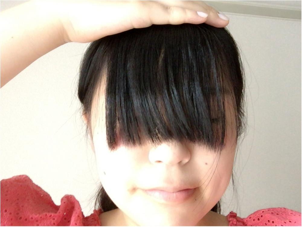 崩れない前髪と今日のコーデ♡*_2