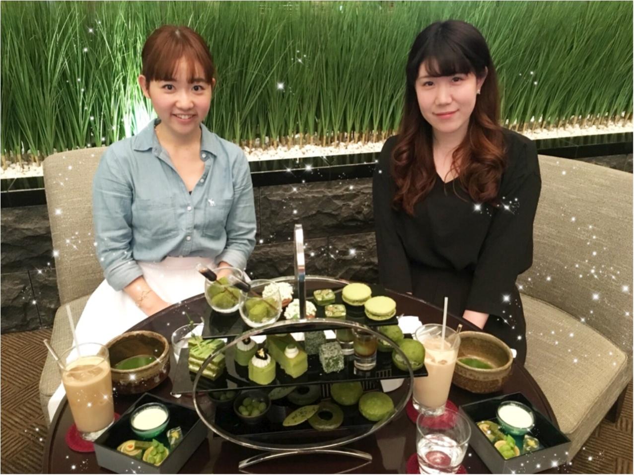 期間限定!抹茶好きにはたまらない、ANAインターコンチネンタルホテル東京の抹茶アフタヌーンティー。_6