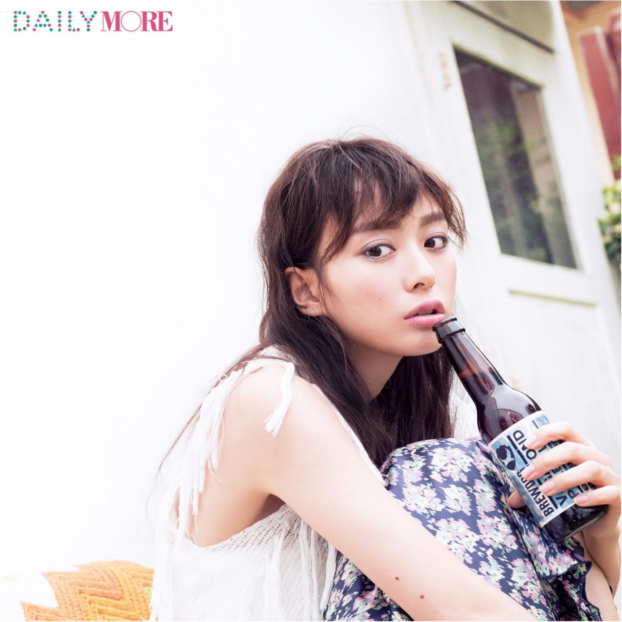 内田理央出演! 大人気ヘア&メイク、イガリシノブさんの「女子会でビアガーデンに行く日」のメイク♡_1