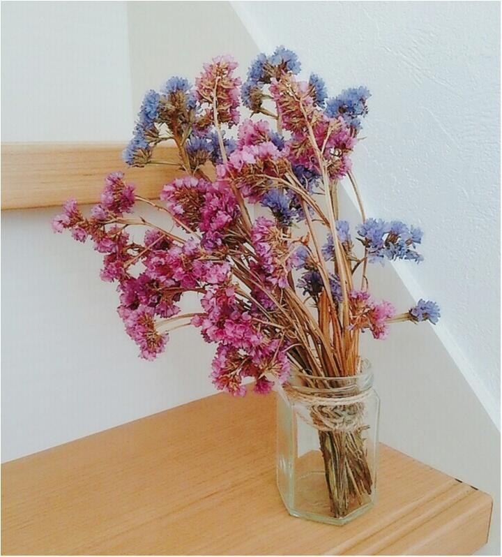"""「お花は枯らしちゃうから・・」だったら最初から【ドライフワラー】で!""""花のある生活""""を叶えちゃお♪飾り方のコツも(443 まゆ _1"""
