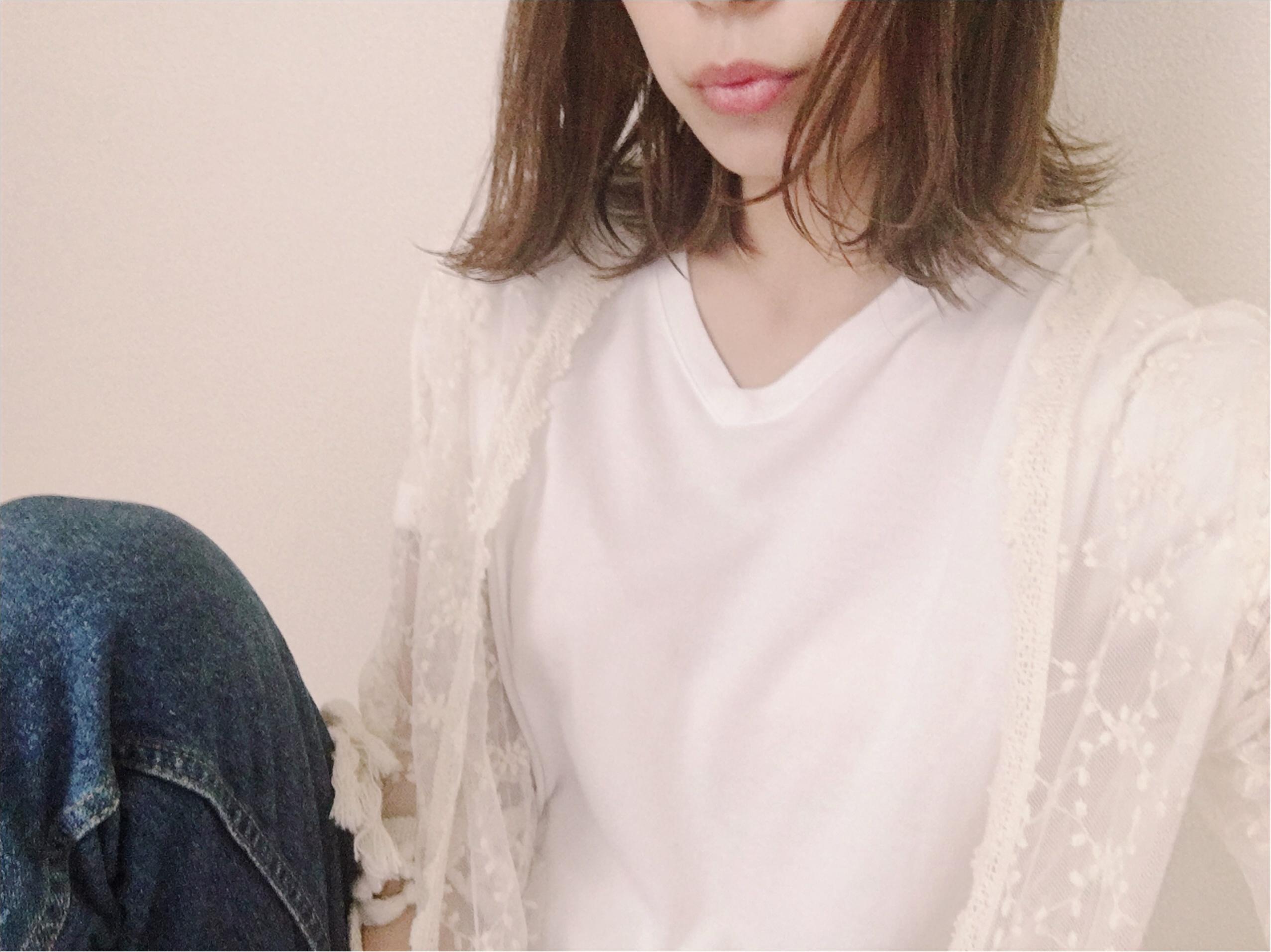 ★《UNIQLO》パックT×レースガウン +αで雰囲気お洒落作っちゃお♡♡_1