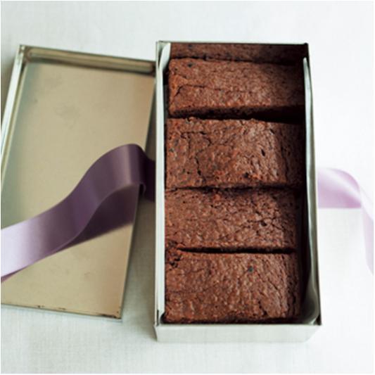 バレンタインチョコパを楽しもう! 大人っぽい味の「ジンジャー・ブラウニー」レシピ_2