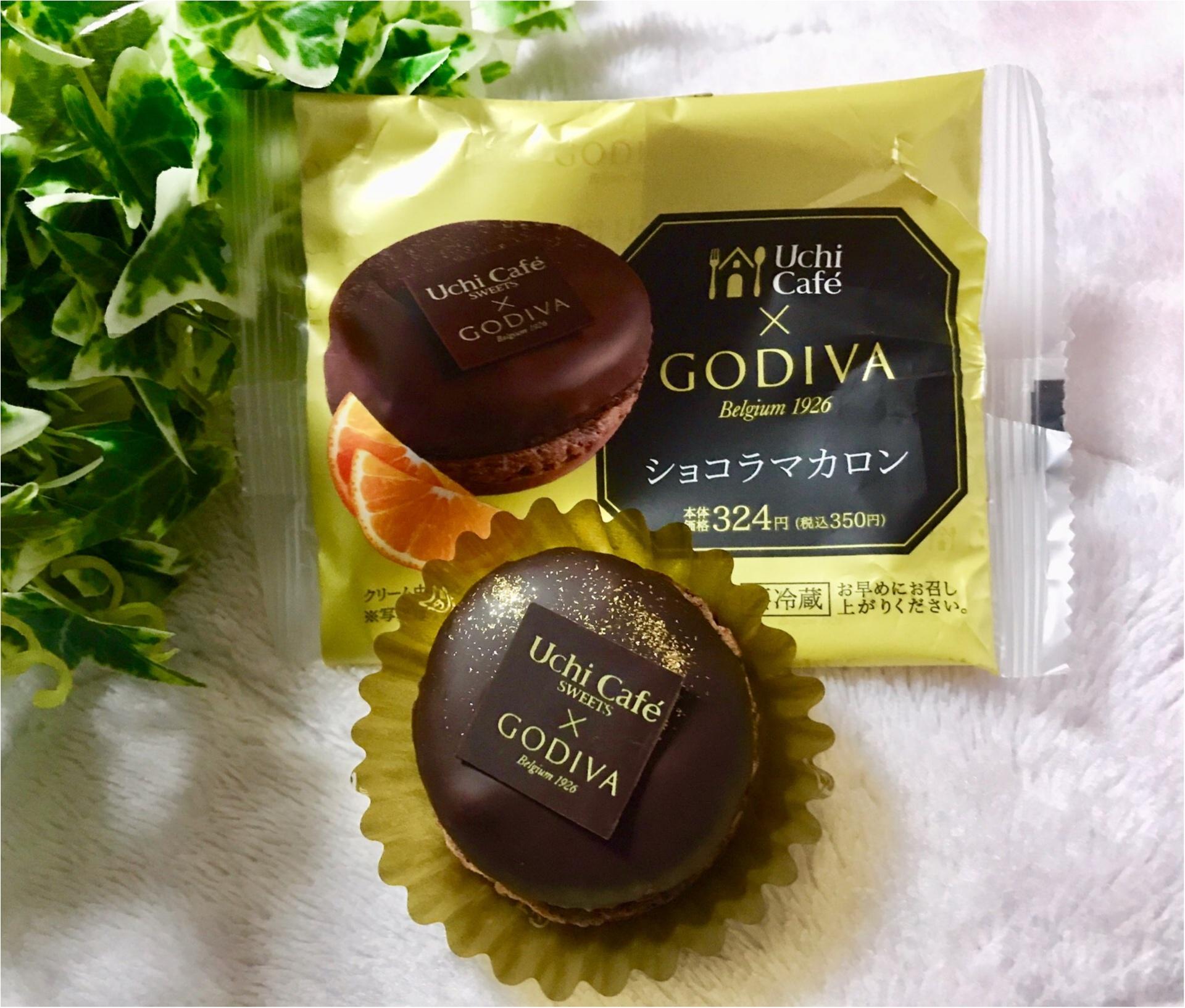 【Uchi Café×GODIVA】コラボスイーツ第6弾!チョコレート好きにはたまらない❤︎《ショコラマカロン》が美味♡♡_1
