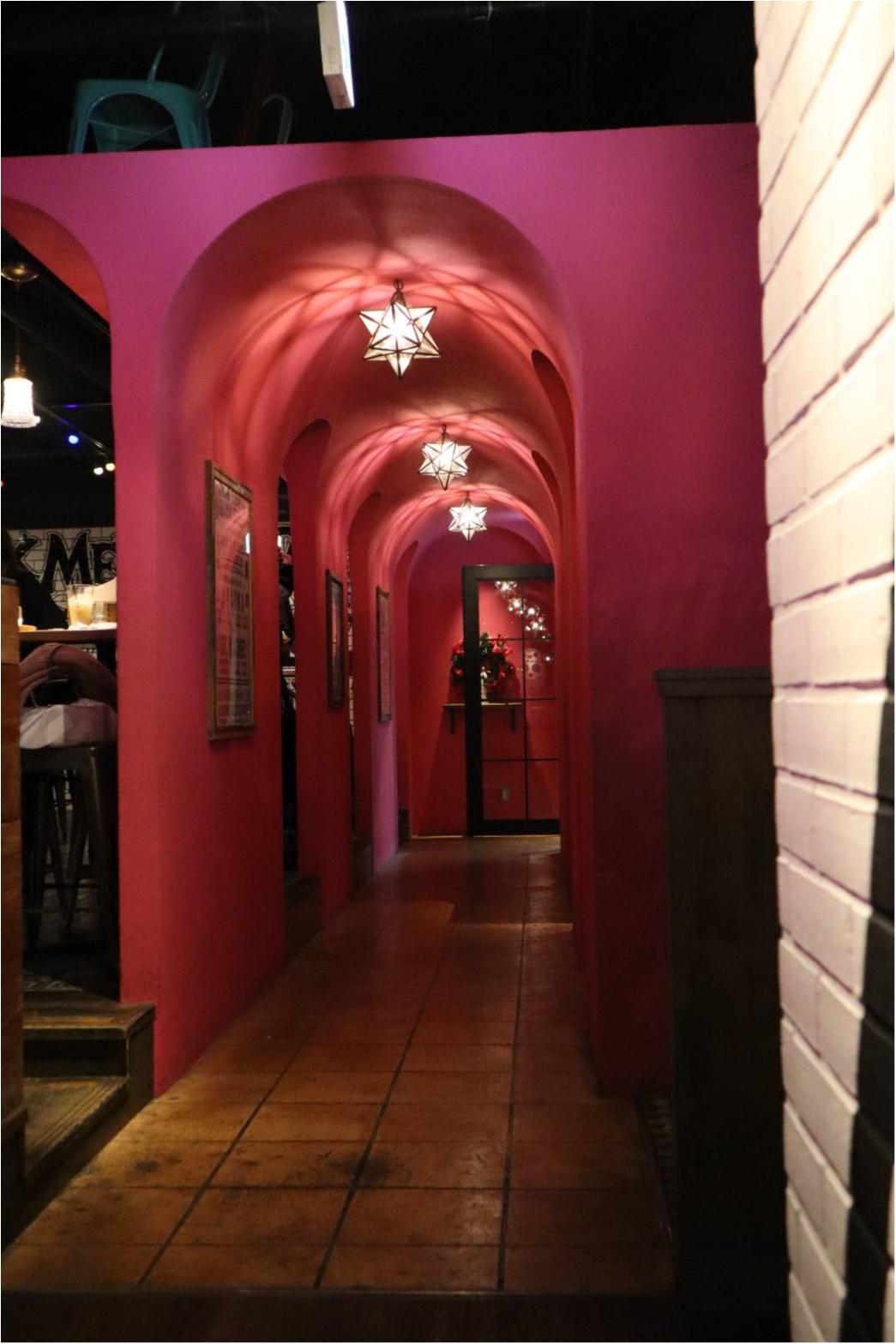 インスタ映え抜群\(^^)/渋谷にあるメキシンカンがピンク過ぎてかわいい♡_3_1