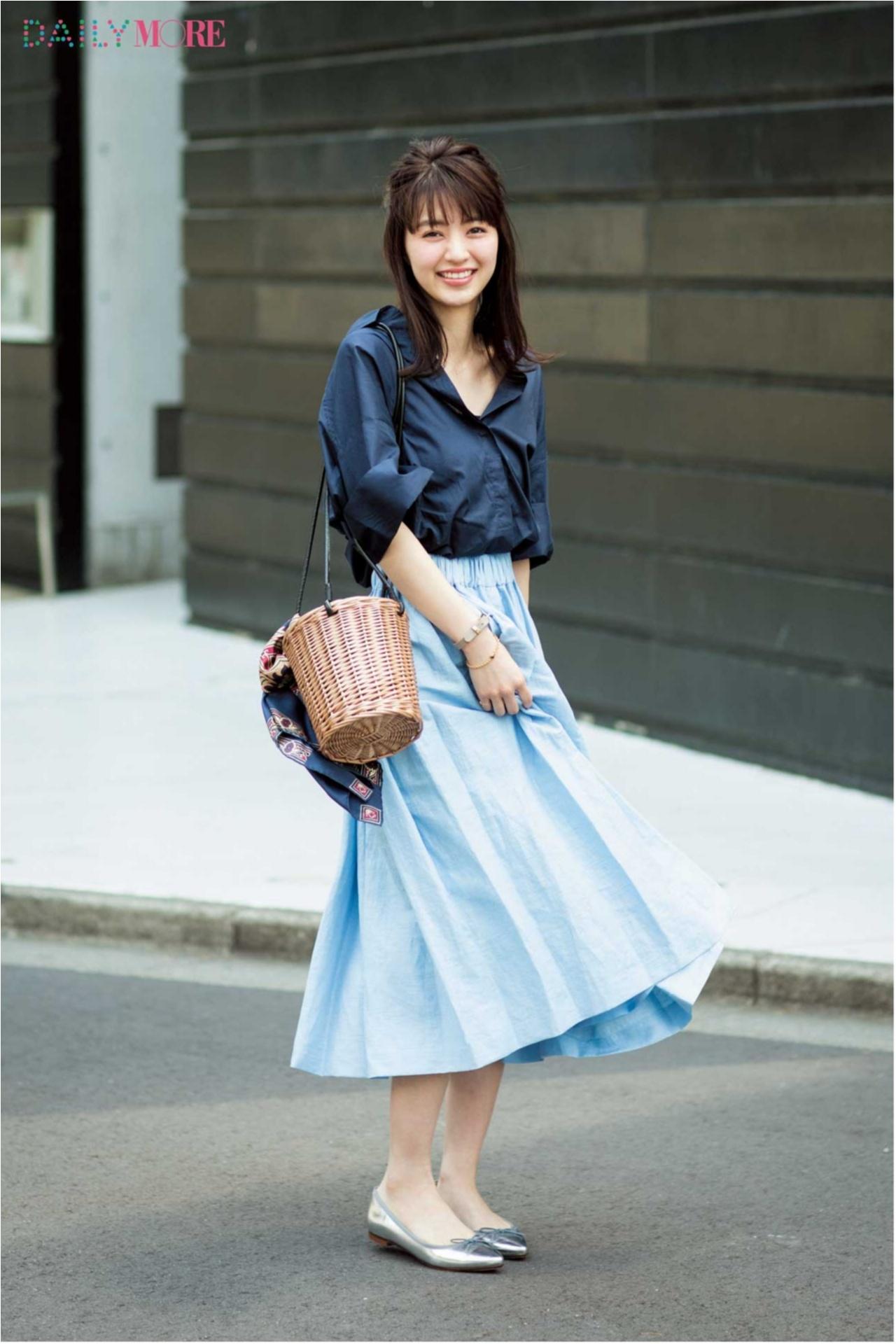 夏の好印象No.1カラー♪「ブルー」を使ったさわやかコーデまとめ♡_1_1