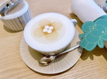 【大阪カフェ】可愛すぎるLOUIS VUITTONのラテとアート展