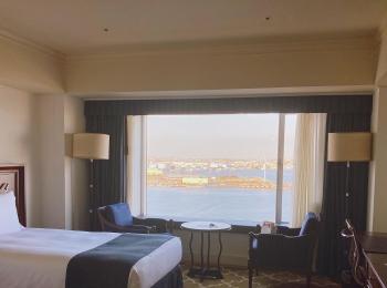 【海の見えるクラブフロアルーム】ヨコハマグランドインターコンチネンタルホテル