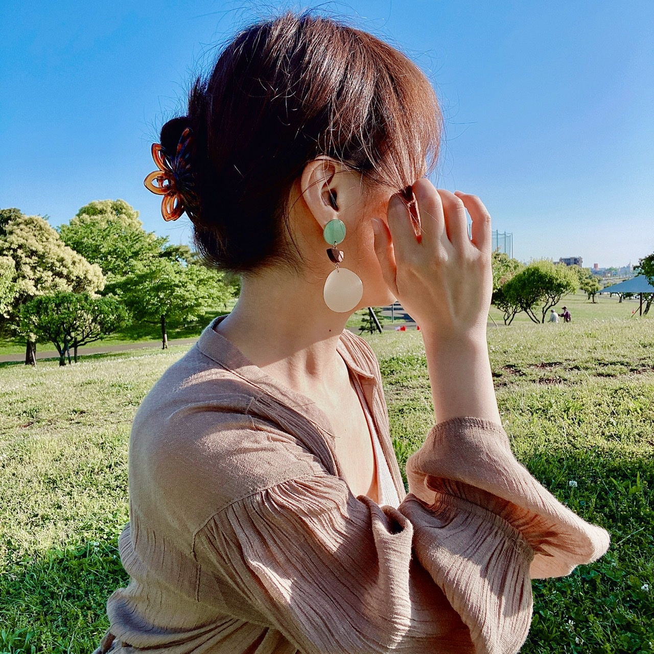 【Lattice】プチプラなのに可愛すぎ♡夏アクセのスタメンは《大ぶりピアス》でキマり!_6