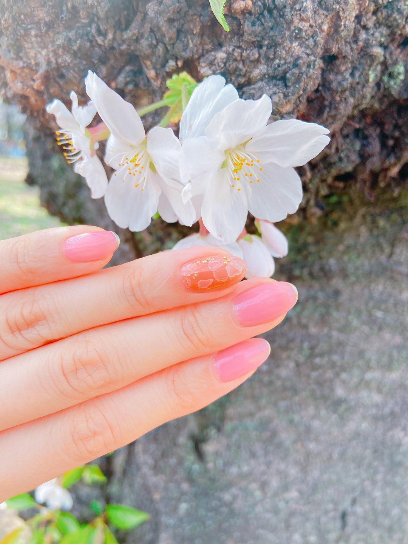 春に似合うネイル
