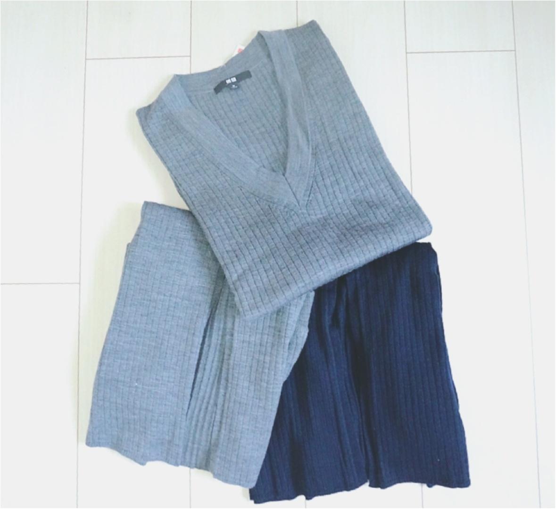 """大大ヒット❤️【UNIQLO】""""メリノブレンドリブスカート""""がついに限定価格に!今なら¥3980で叶う《ニットアップ》コーデ❤️_4"""