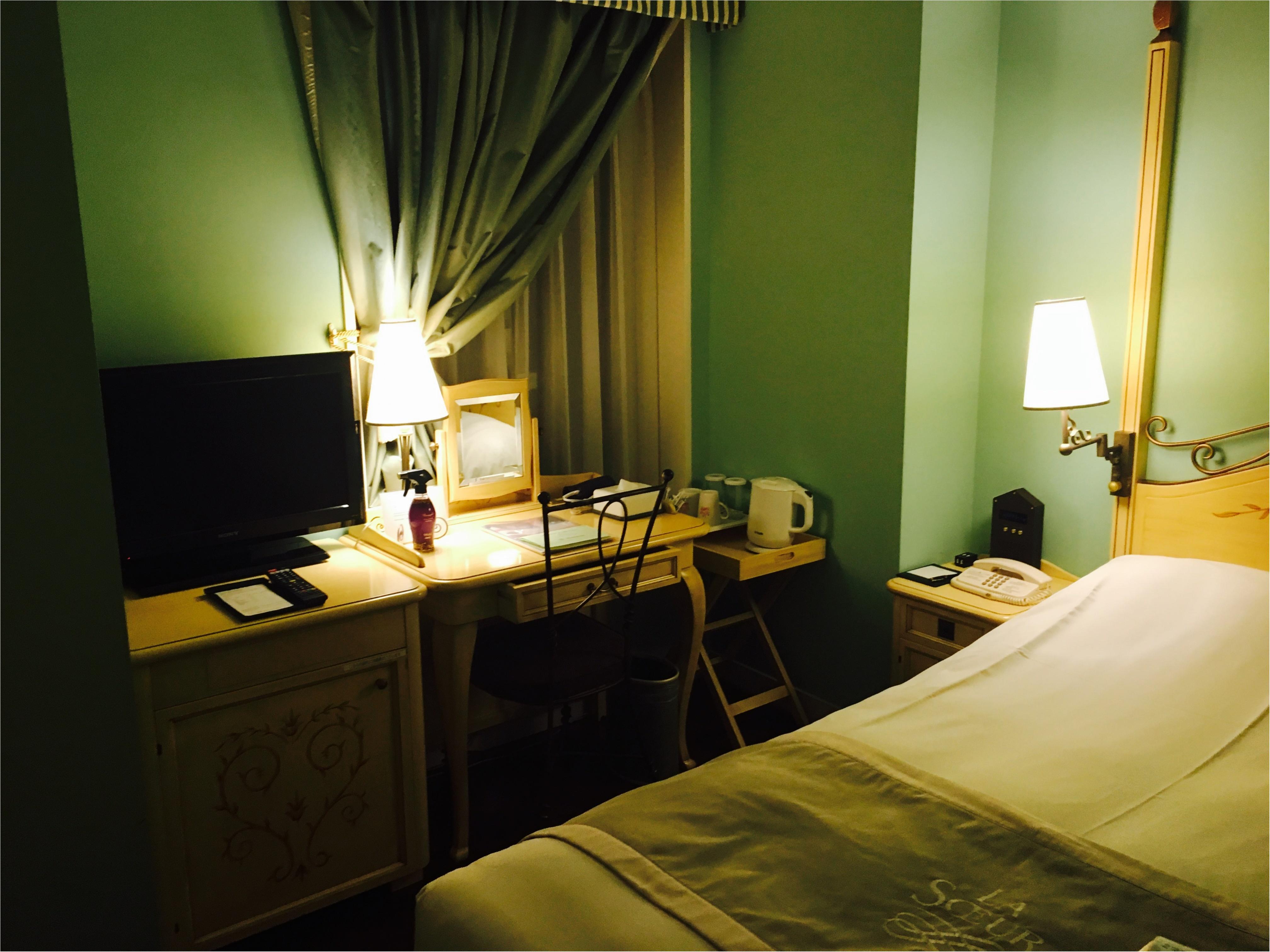 かわいい♡が詰まったお部屋!ホテルモントレ ラスツール銀座_2