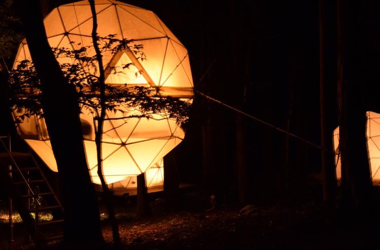 【女子旅におすすめ】森に浮かぶテントに泊まれちゃう♡《INN THE PARK》@沼津_6