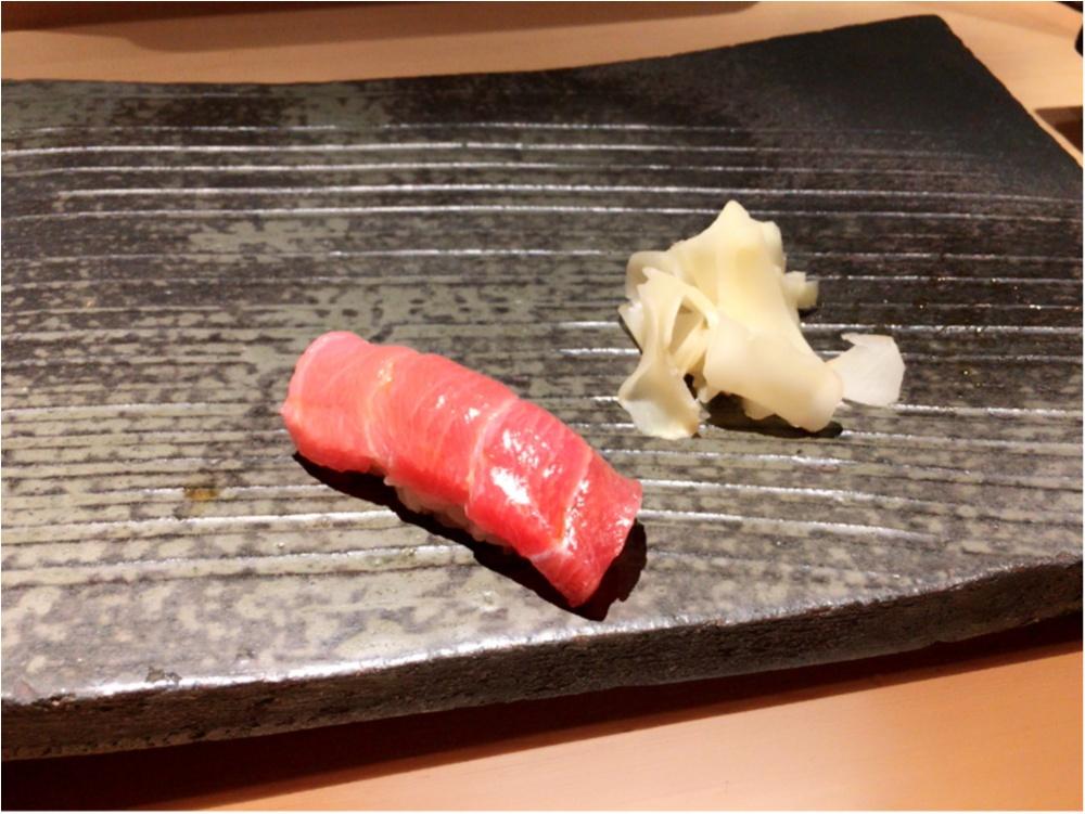 こんなのはじめて♡西麻布のお寿司屋さんに行ってきたよ♡_1
