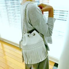 【コレ買っちゃいました!】J&M デヴィッドソンのフリンジバッグ