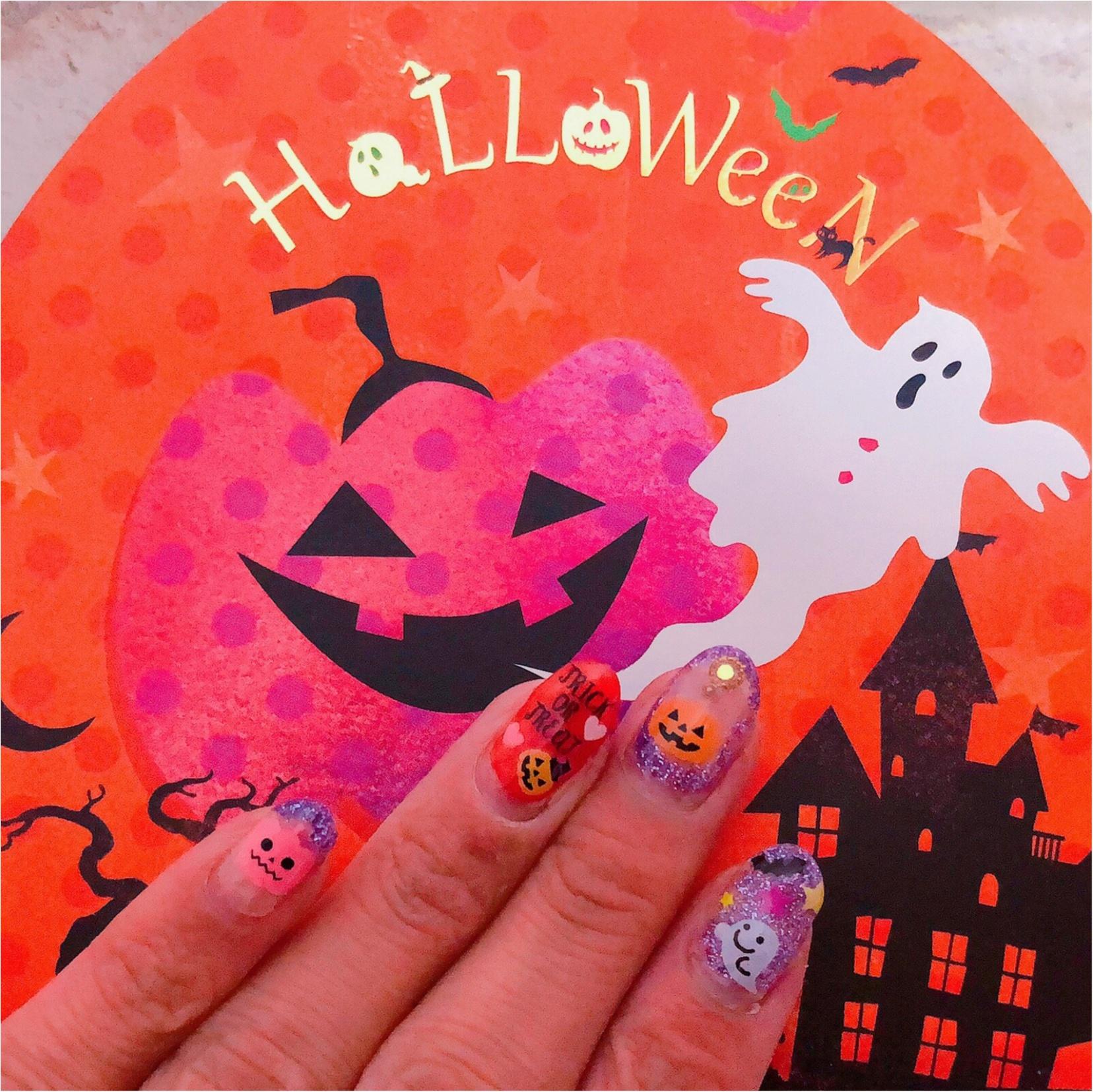 Halloween☆Nail 第二弾〜〜ネイルもHalloweenに!_2