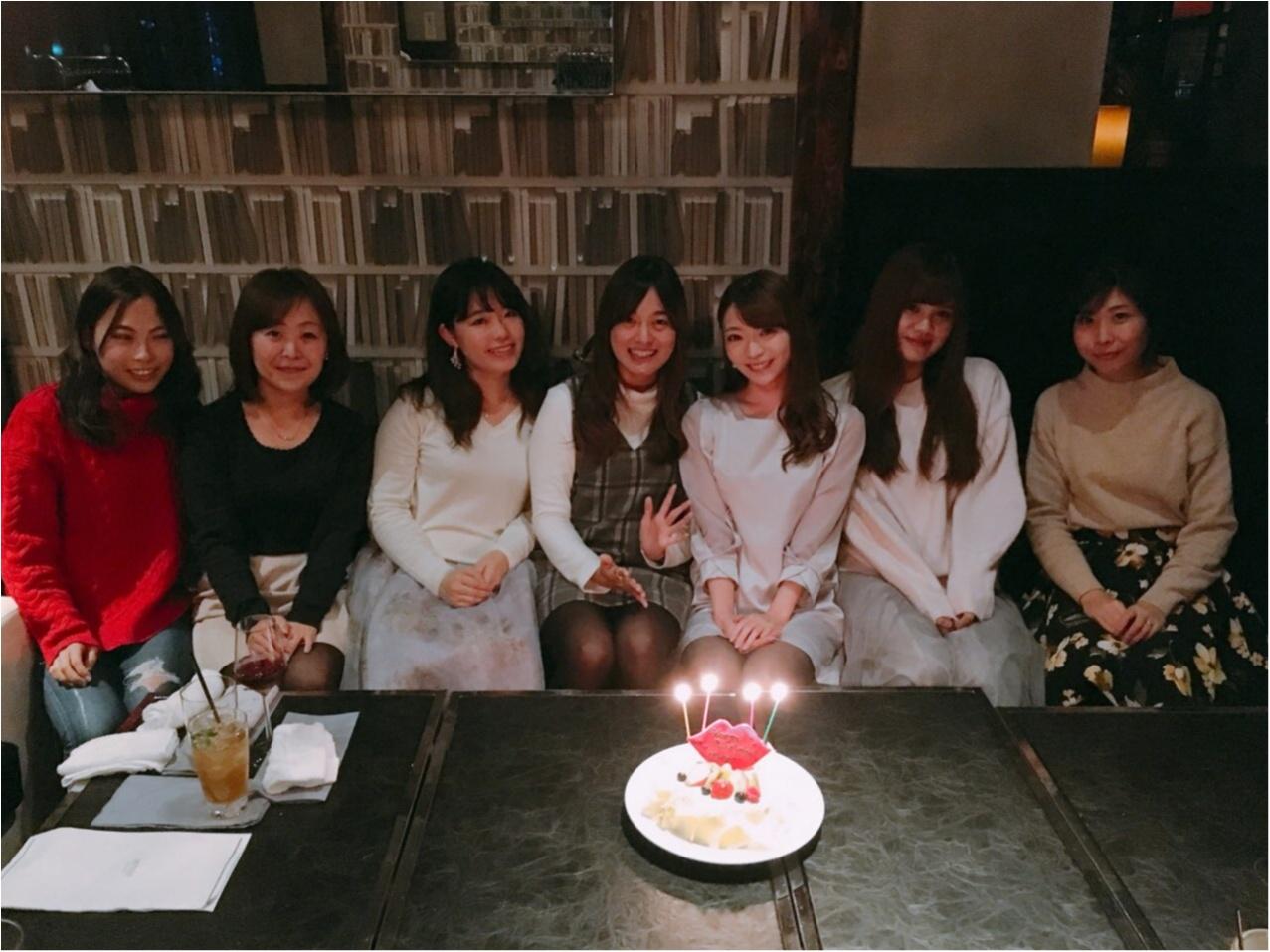 【大好きなモアハピ10期にお祝いしてもらいました】大人数女子会はオシャレな個室がおすすめ♡_9