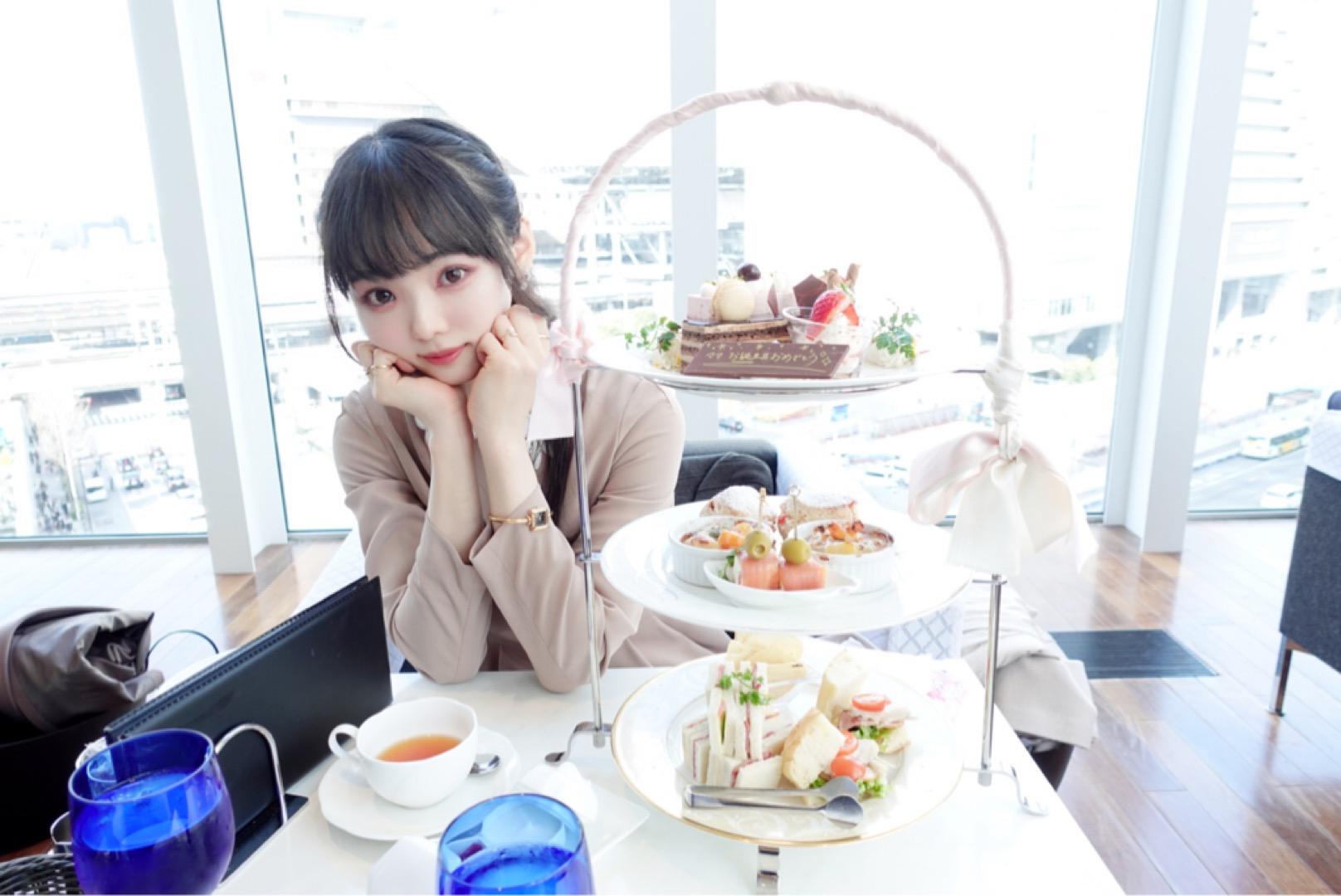 ドラマ半沢直樹のロケ地!?大阪にあるThe Grand Cafeでアフタヌーンティーをしたらとても眺望が良かった!甘いものばかりではないので男性にもおすすめ★_10