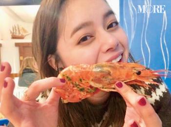 岸本セシル「ごはんをおいしそうに食べられること♡」 【モデルのオフショット:特技編】