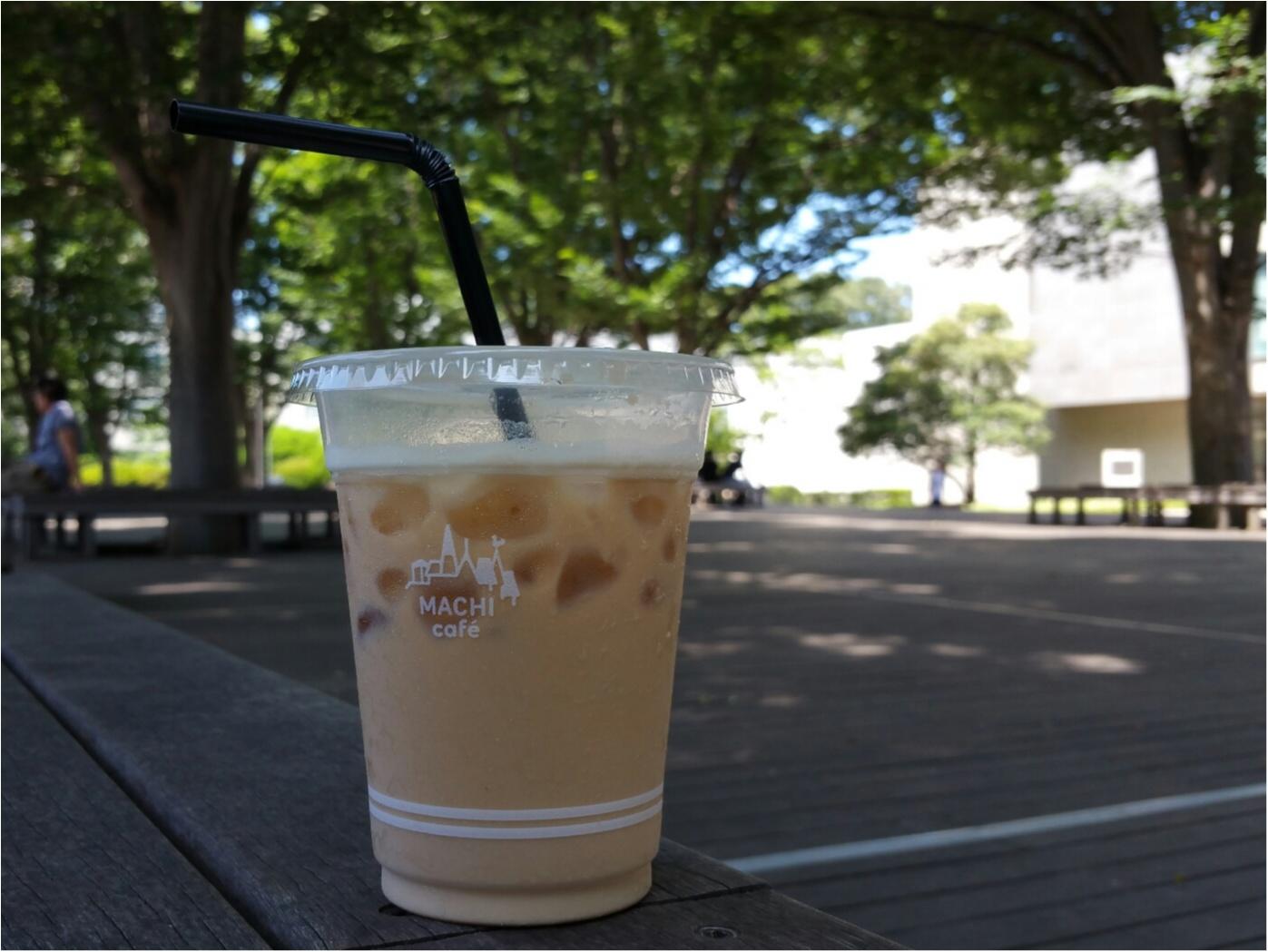 【夏のお昼休みにベンチで気分転換♡】LAWSONのmachicafe&uchicafe_1