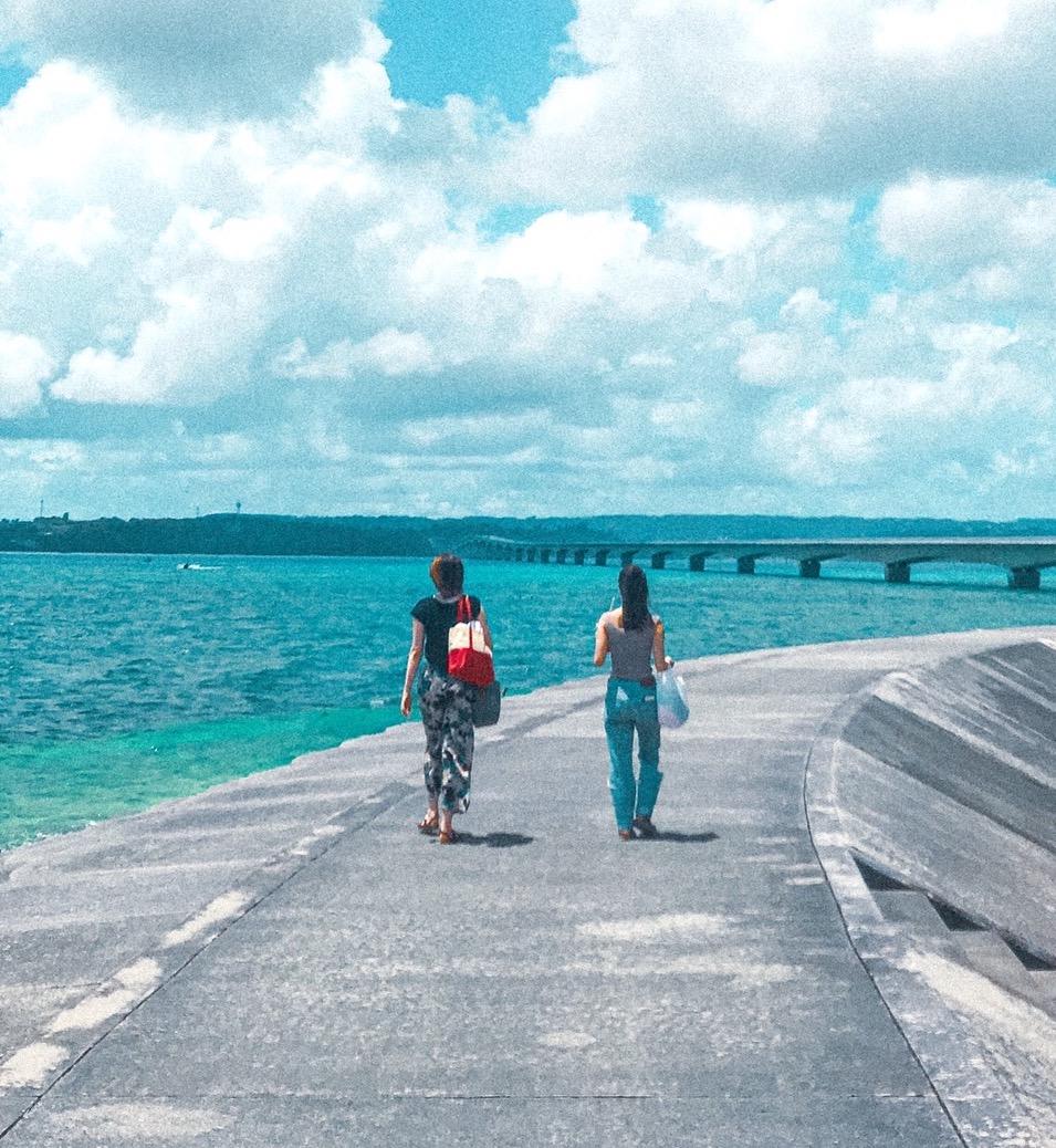 【女子旅におすすめ】沖縄県《橋で渡れる離島 古宇利島》20代のうちに行っておきたい、隠れ絶景スポット♡_1