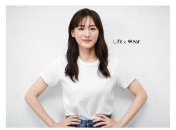 『ユニクロ』LifeWearアンバサダーに綾瀬はるかさんが就任!photoGallery