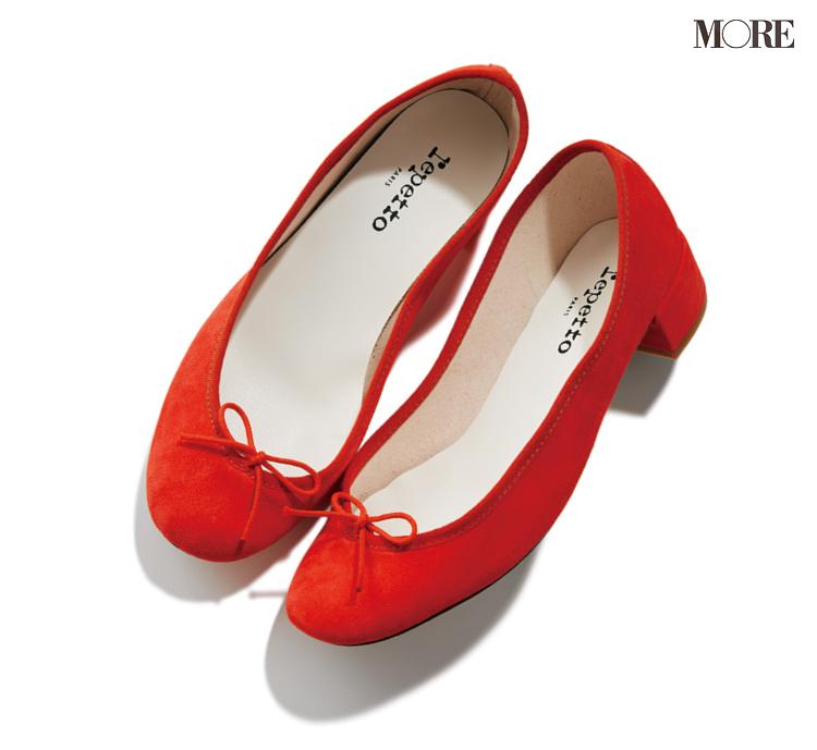 スタイリスト石上さんが春ほしいレペットのぺたんこ靴