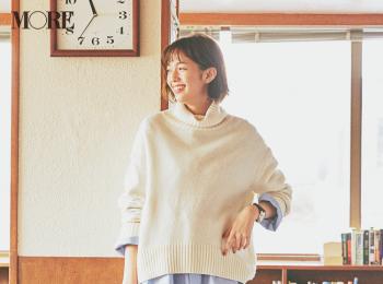 【今日のコーデ】何着るか迷ったら「水色シャツ」をレイヤードして定番コーデをリフレッシュ☆ 〈佐藤栞里〉