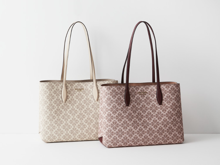 MOREプレゼントのケイトスペードニューヨークのポーチ付きトートバッグ