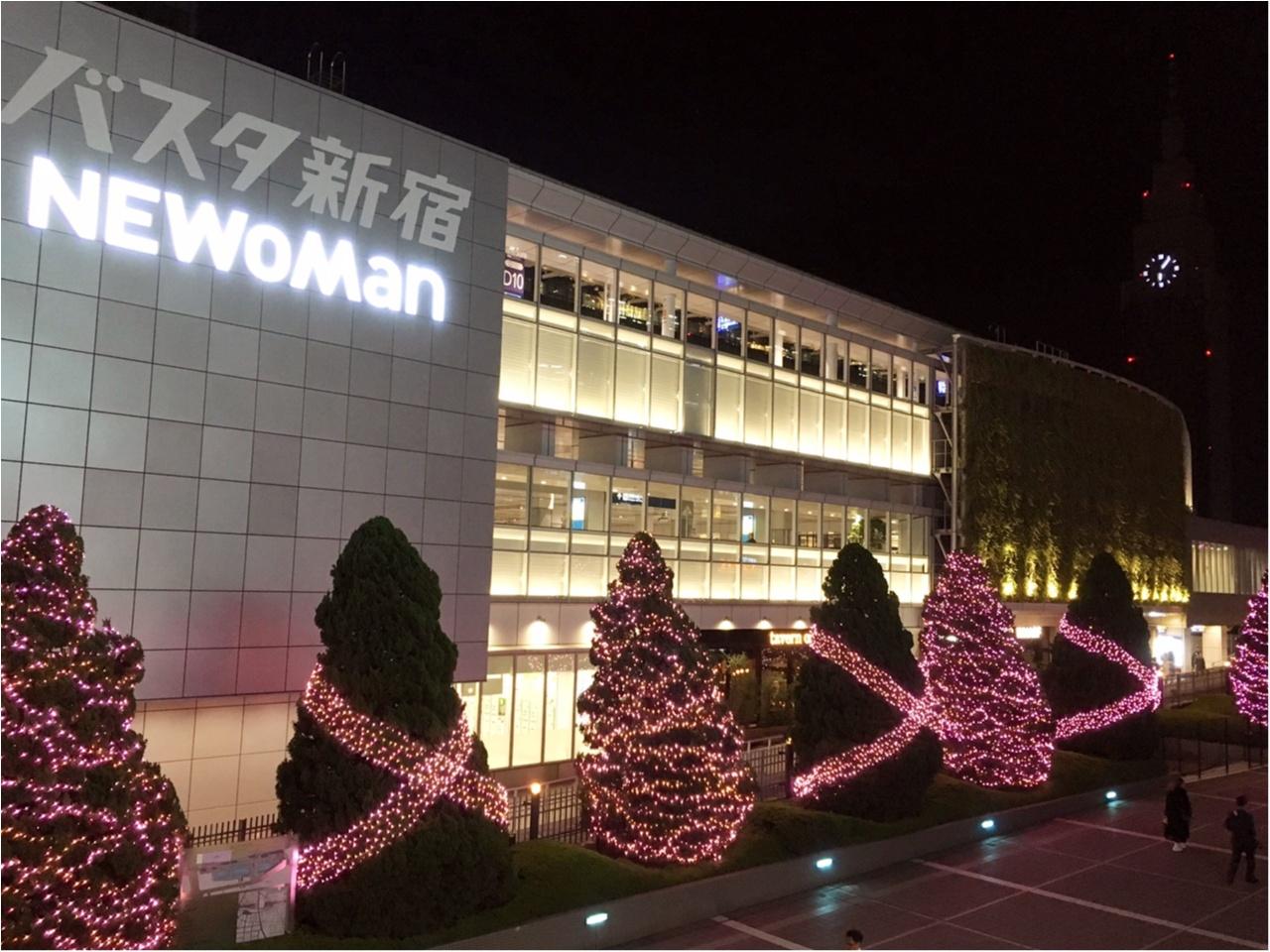 新宿の冬をベビーピンク色に染め上げる♡『新宿テラスシティ』のイルミネーションが女子力高め!体験型の『スマイルタワー』って?♡_6