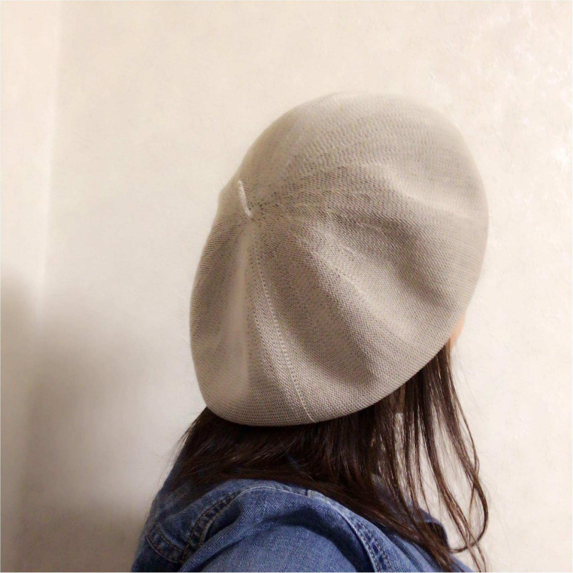 春も【ベレー帽】をかぶりたい♡ 私が選んだのは○○素材!_3